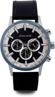 Police PL15000JSTBL03 Analog Round Dial Men's Watch (PL15000JSTBL03)