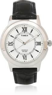 Timex T2P5206S Analog Silver Dial Men's Watch (T2P5206S)