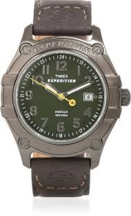 Timex T498046S Expedition Analog Green Dial Men's Watch