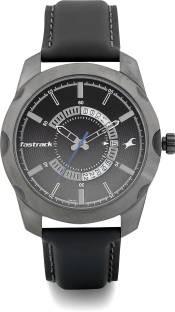 Fastrack 3123QL01 Analog Black Dial Men's Watch
