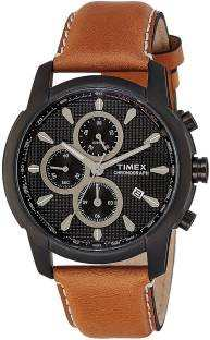 Timex TW000Y504 E Class Analog Black Dial Men's Watch (TW000Y504)