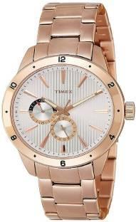 Timex TW000Z105 Fashion Analog Silver Dial Men's Watch (TW000Z105)