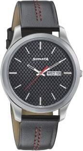 Sonata 77063SL06 NXT Analog Men's Watch (77063SL06)