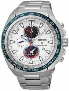 Seiko SSC485P1 Prospex Analog White Dial Men's Watch (SSC485P1)