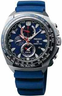 Seiko SSC489P1 Prospex Analog Blue Dial Men's Watch (SSC489P1)