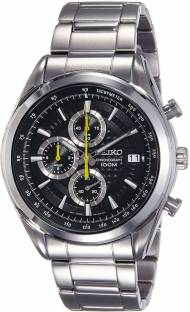 Seiko SSB175P1 Analog Black Dial Men's Watch (SSB175P1)