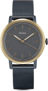 Fossil ES4312I Blue Dial Analog Women's Watch (ES4312I)