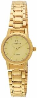 Maxima 48531CMLY Analog Champagne Dial Women's Watch (48531CMLY)