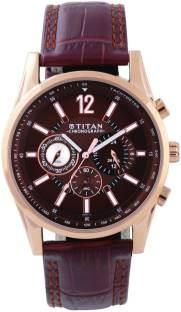 Titan 9322WL06 Classique Analog Brown Dial Men's Watch (9322WL06)