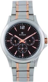 Titan Neo 1698KM01 Analog Black Dial Men's Watch (1698KM01)