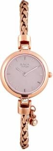 Titan 2584WM01F Analog Rose Gold Dial Women's Watch (2584WM01F)