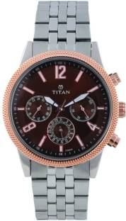 Titan Neo 1734KM03 Analog Blue Dial Men's Watch (1734KM03)