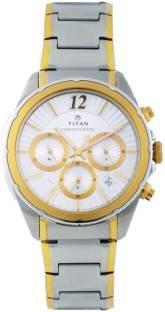 Titan Regalia 1748BM01 Sovereign Analog Silver Dial Men's Watch (1748BM01)