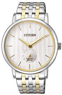 Citizen BE9174-55E White Dial Analog Watch For Men (BE9174-55E)