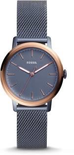 Fossil ES4312 Analog Blue Dial Women's Watch (ES4312)