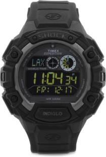 Timex T49970 Shock Digital Grey Dial Men's Watch (T49970)