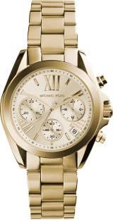 Michael Kors MK5798 Gold Toned Dial Chronograph Women's Watch