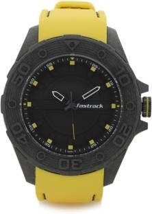 Fastrack 38030PP02J Analog Black Dial Men's Watch (38030PP02J)
