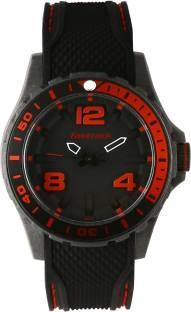 Fastrack 38036PP03J Light Weight Black Analogue Men's Watch (38036PP03J)