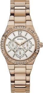 Guess W0845L3 White Dial MultiFunction Women's Watch (W0845L3)