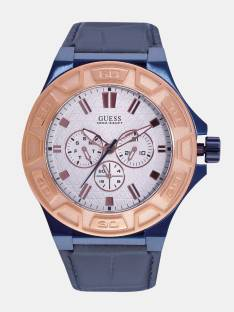 Guess W0674G7 White Dial Multi function Analog Men's Watch (W0674G7)