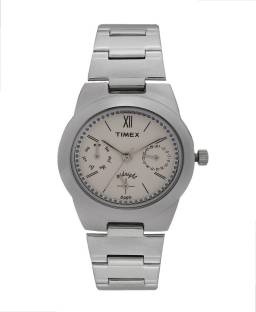 Timex TW000J107 Fashion White Dial Color Women's Watch (TW000J107)