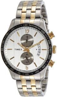Timex TWEG14905 Silver Dial Analog Men's Watch (TWEG14905)