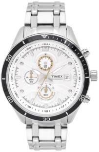 Timex TWEG15200 Analog White Dial Men's Watch (TWEG15200)