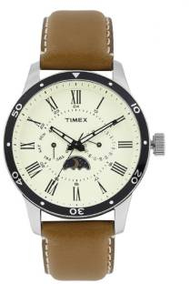 Timex TWEG14701 E Class White Dial Analog Men's Watch (TWEG14701 E)