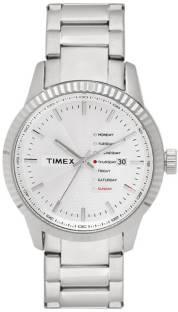 Timex TWEG15100 Analog Silver Dial Men's Watch (TWEG15100)