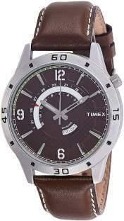 Timex TW000U910 Analog Brown Dial Men's Watch (TW000U910)