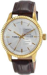 Timex TWEG15105 Analog Silver Dial Men's Watch (TWEG15105)