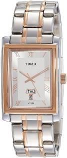 Timex TW000G720 Analog Silver Dial Men's Watch (TW000G720)