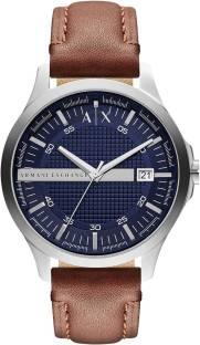 Armani Exchange AX2133 Navy Textured Dial Men's Watch