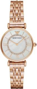 Emporio Armani AR1909 Off White Dial Analog Women's Watch