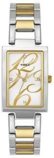 Timex TWEL11304 Analog Silver Dial Women's Watch (TWEL11304)