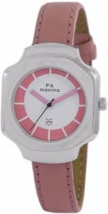 Maxima 47310LMLI White Dial Analog Women's Watch (47310LMLI)