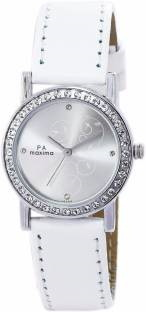 Maxima 25638LMLI Analog Silver Dial Women's Watch (25638LMLI)