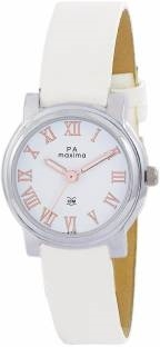Maxima 41318LMLI Analog White Dial Women's Watch (41318LMLI)