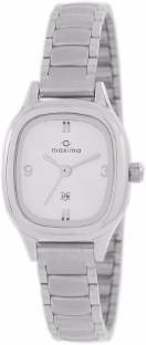 Maxima 39993CMLI Analog Silver Dial Women's Watch (39993CMLI)