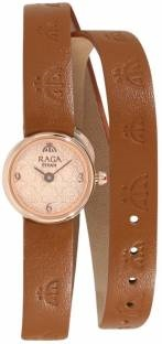 Titan 95075WL01 Masaba Analog Rose Gold Dial Women's Watch (95075WL01)