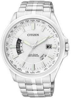 Citizen Eco-Drive CB0011-51A Analog White Dial Men's Watch (CB0011-51A)