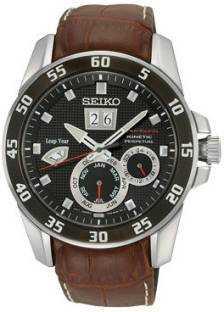 Seiko SNP055P2 Analog Multi Color Dial Men's Watch