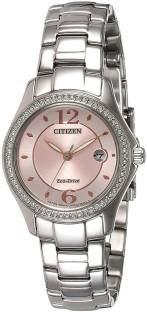 Citizen FE1140-51X Analog Pink Dial Women's Watch
