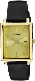 Sonata NG7078YL02C Analog Men's Watch (NG7078YL02C)