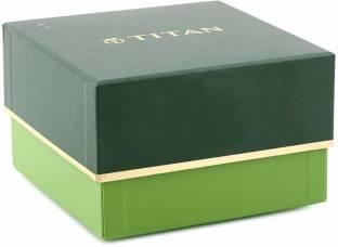 Titan 95060YM01 Analog Green Dial Women's Watch (95060YM01)