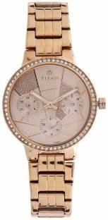 Titan 95058WM02 Analog Pink Dial Women's Watch (95058WM02)