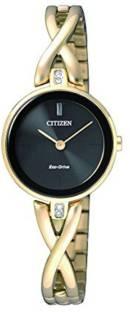 Citizen EX1422-89E Analog Black Dial Women's Watch (EX1422-89E)