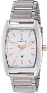 Maxima 35363CAGI Attivo Analog White Dial Men's Watch (35363CAGI)