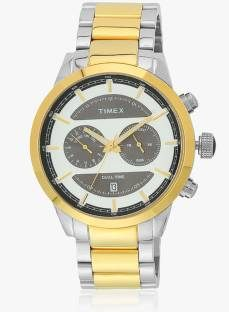 Timex TW000Y410 Analog Silver Dial Men's Watch (TW000Y410)